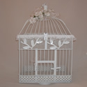 Butterfly release wedding collection Quince A.  An Accordion style release box with white rose decor.